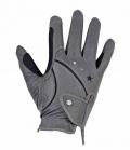 Busse Handschuhe Stars Anti Slip Kunstleder SP - grau
