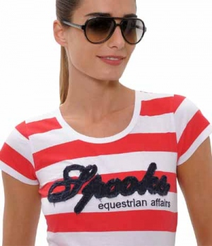 Spooks T-Shirt Damen Stripe Annalena
