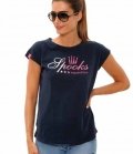 Spooks T-Shirt Damen Maggie Balon Shirt - navy
