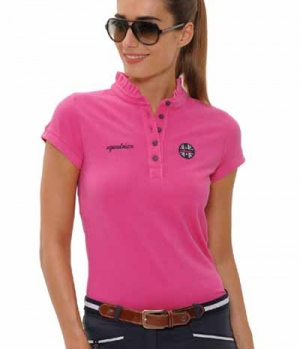 Spooks Polo Shirt Damen Viola FS´19