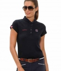 Spooks Polo Shirt Damen Viola FS´19 - navy