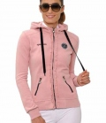 Spooks Sweat Jacke Damen Liz - rosa