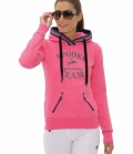 Spooks Hoody Damen Maril - pink