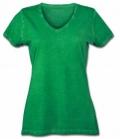 T-Shirt Gipsy Soft Ladies V-Ausschnitt - grün