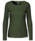 Textil Long Shirt 100%Fairtrade Baumwolle - military