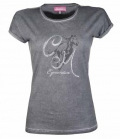 HKM T-Shirt Ladies Rimini FS´18 - 9300grau