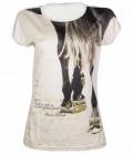 HKM T-Shirt Ladies Santa Rosa FS´18 - beige
