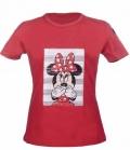 HKM T-Shirt Kids Disney Love Minnie - rot