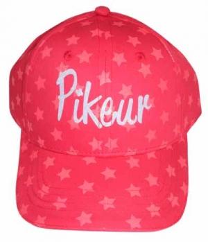 Pikeur Cap Kids Logo Sterne Print