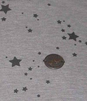 Naketano T-Shirt Bernd Spacko mit Sternen