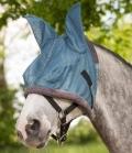 Waldhausen Fliegenmaske Protect weich gepolstert - taubenblau