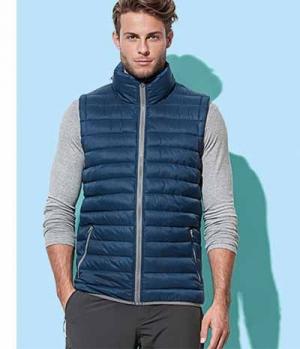 Textil Weste Unisex kontrastfarbig