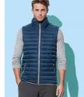 Textil Weste Unisex kontrastfarbig - darkblue