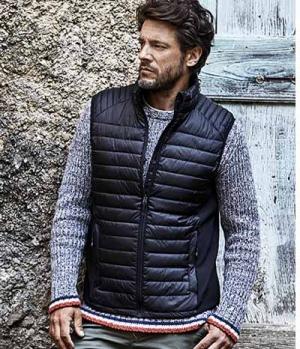 Textil Weste Unisex mit Softshell Einsatz seitl