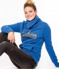 Eskadron Hoodie Damen Donna  Sale 39,95€ - cobaltblue