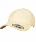 Textil Cap FlexFit Peached Cotton Twill - gelb