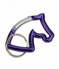 Happy Ross Schlüsselanhänger Pferdekopf Karabiner- - lila