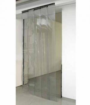 Kerbl Streifenvorhang Set 5x Str.30x225 cm