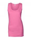 Textil Tank Top Damen Soft - azalea