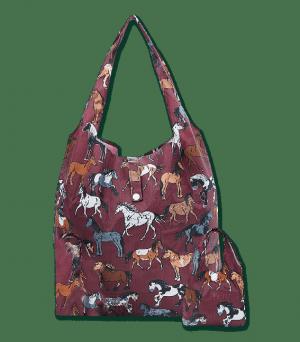 Waldhausen Shopper Tasche mit Pferderassen