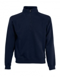 Textil Zip Sweat Shirt Unisex - blau