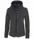 Pikeur Jacke Fleece Frida Outdoor Kapuze HW´18 - anthracite