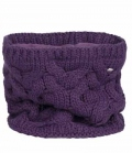 Pikeur Loop Neckwarmer Schornstein Strick - grape
