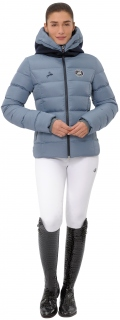 Spooks Jacke Damen Debbie mit Kapuze - blau