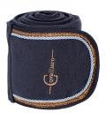 Covalliero Bandagen Fleece 4er Set Kollektion HW´18 - dkl.blau