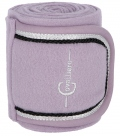 Covalliero Bandagen Fleece 4er Set Kollektion HW´18 - purpleash