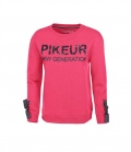 Pikeur Sweat Shirt Damen Glaw Rundhals  HW´18 - rouge red