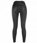 HKM Reitleggings Youth Mesh *** - schwarz