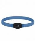 Leuchthalsband Maxi Safe LED  Stufen - blau