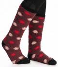 Horseware Socken Softie kuschelig - garnet spo