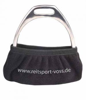 Waldhausen Steigbügelhüllen Fleece Voss Black Line
