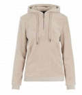 HV Polo Sweat Shirt Damen Fleecehoody Honey - stonegrey