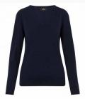 HV Polo Pullover Damen V-Ausschnitt Sandy HW´18 - navy