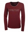 Pikeur Shirt DamenTiny Langarm Premium Sale - mahagony