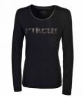 Pikeur Shirt DamenTiny Langarm Premium Sale - schwarz