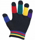 Busse Reithandschuhe Magic-Grippy Kids(20) - bunt