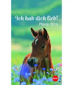 Hippobook Kalender 2019  Mini Pferdefreunde