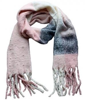 Springstar Schal Jenny mit Perlen kuschelig weich