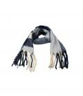 Springstar Schal Jenny mit Perlen kuschelig weich - blau