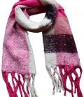 Springstar Schal Jenny mit Perlen kuschelig weich - pink