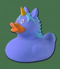 Waldhausen Bade Ente Einhorn Spielzeugnorm EN71 - blau