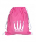 Spooks Gym Bag Tasche - rosa