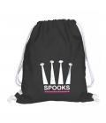 Spooks Gym Bag Tasche - schwarz