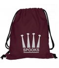 Spooks Gym Bag Tasche - bordeaux