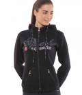 Spooks Sweat Jacket Roxie Sequin HW´20 - navy