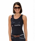 Spooks Tank Top Damen Roxy Sequin FS´19 - navy